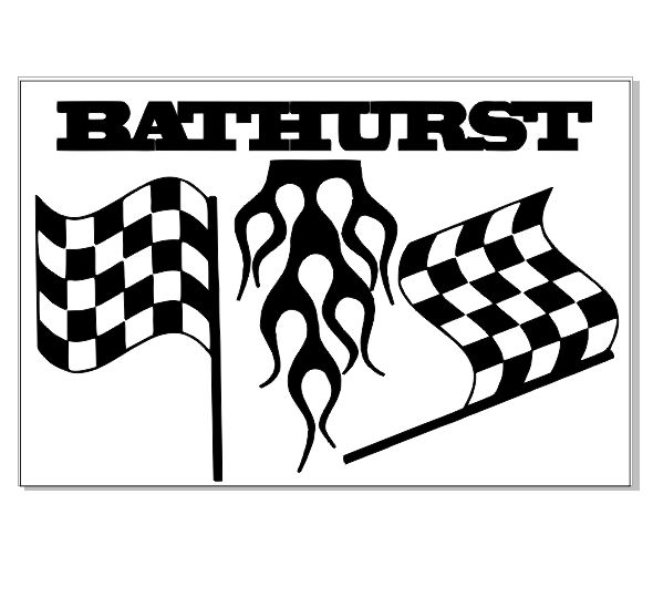 Bathurst 100 x 150 sold in 3's